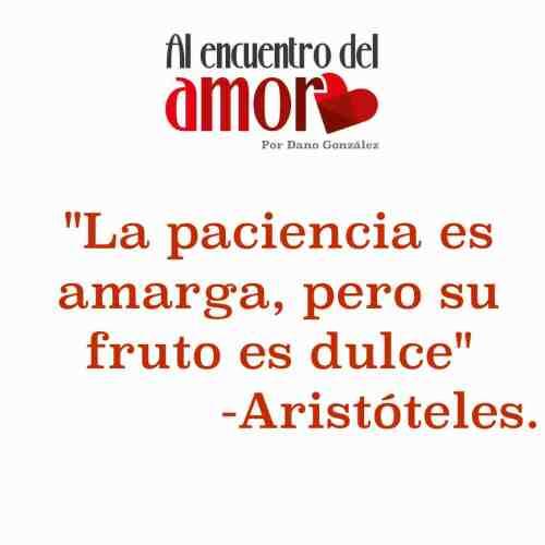 Aristóteles paciencia amarga fruto dulceAA Frases al encuentro del amor.jpg